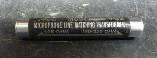microphone line matching transformer LT-702