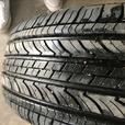 Set of four Toyota mags with Michelin tires