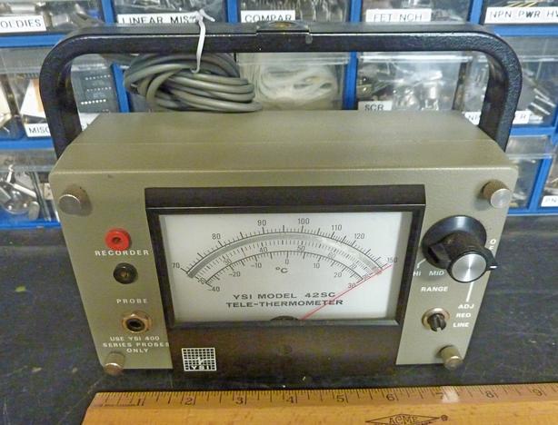 remote sensor thermometer, YSI 42SC