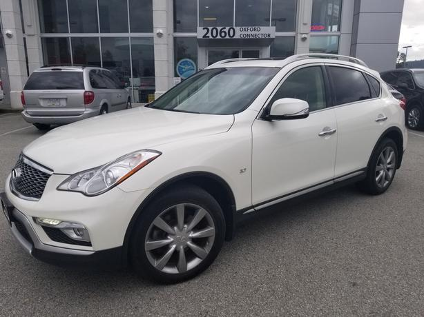 2016 INFINITI QX50 Leather-Sunroof-Back Up Cam AWD