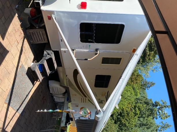 Sunny side of the lake RV lot and Trailer on Lake Cowichan