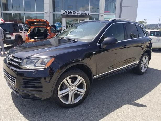 2014 Volkswagen Touareg Execline - RLine Navigation-Leather-Sunroof AWD