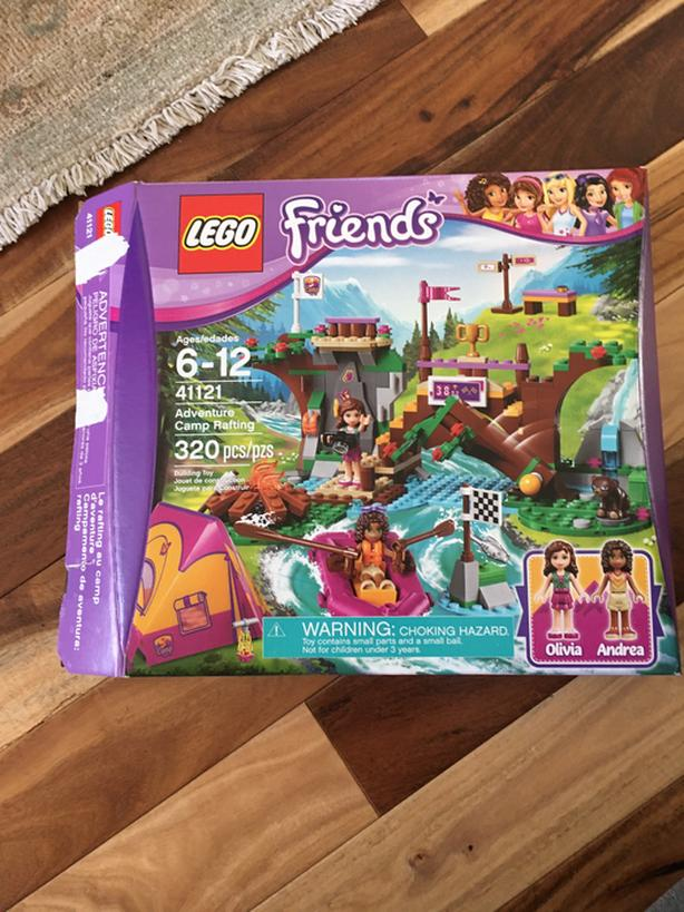 Lego Friends; Adventure Camp Rafting