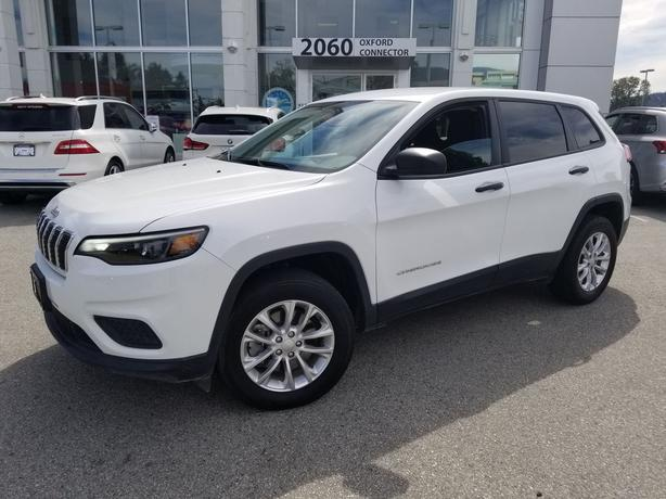 2019 Jeep Cherokee Sport Heated Seats & Steering Wheel-Rear Camera 4WD