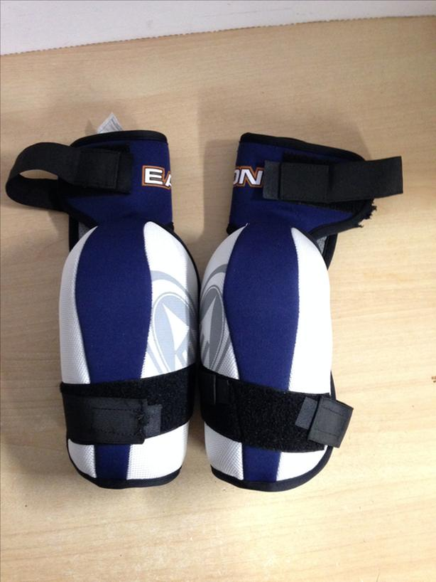 Hockey Elbow Pads Men's Size Large Easton Synergy Blue Grey As New