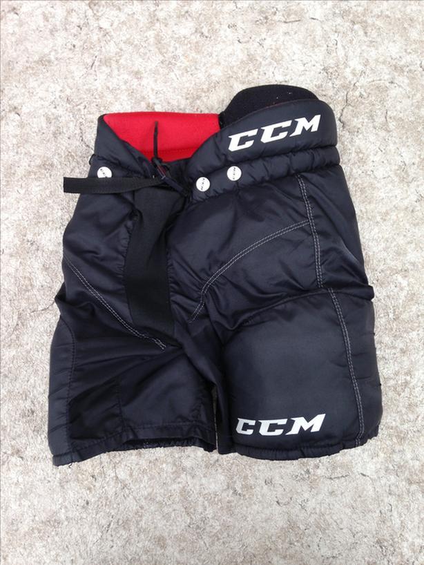 Hockey Pants Child Size Youth Large CCM Young Guns Age 5-6 Black