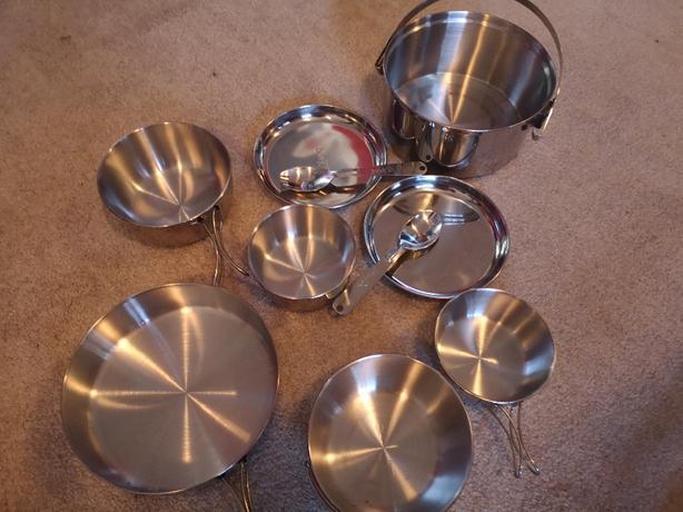 Backpacking cook set