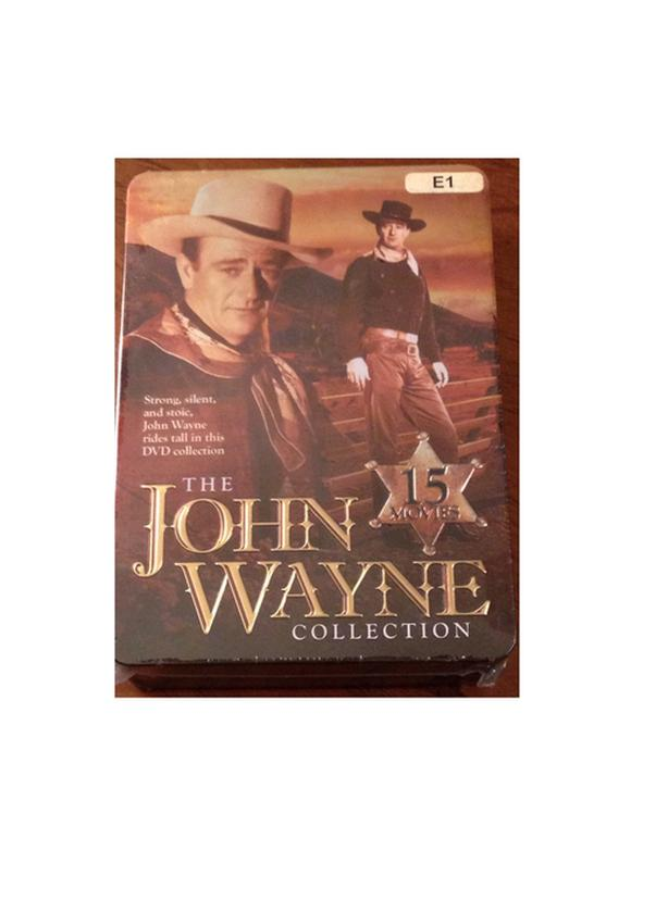 The John Wayne Collection DVD Set (5 Disc Tin Set) Brand New!