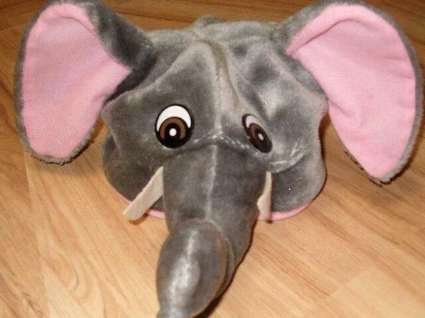 elephant fleece hat