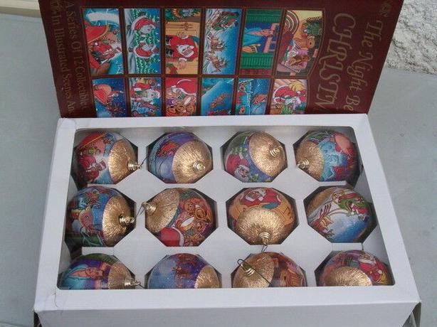, Christmas ornament gold satin ball ,