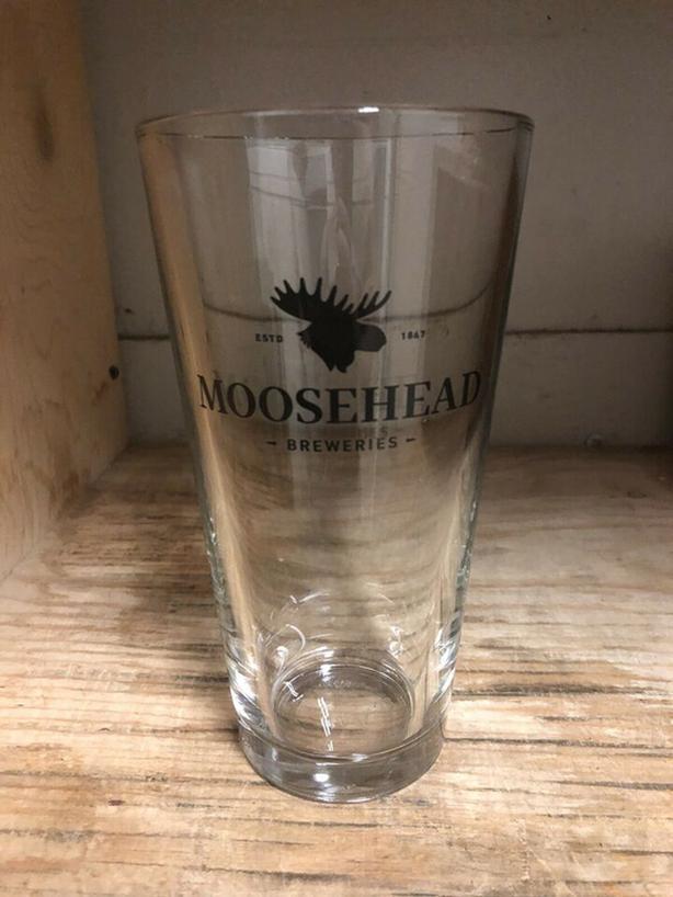 20 Brand New Moosehead Pint Beer Glasses