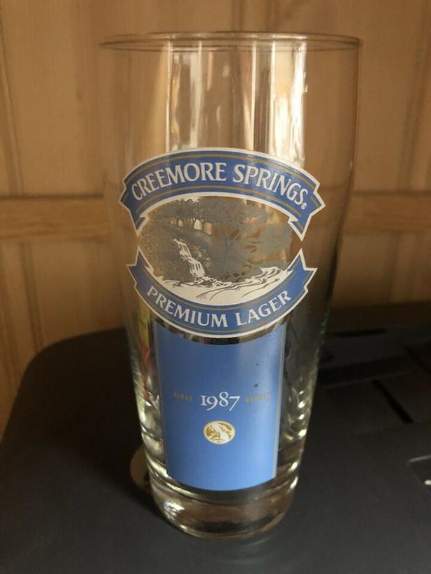 1 x Creemore Springs Pint Beer Glasses