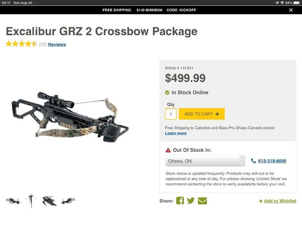 Excalibur GRZ 2 Crossbow