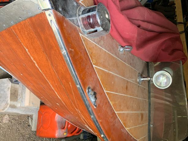 Classic vintage Wooden Boat