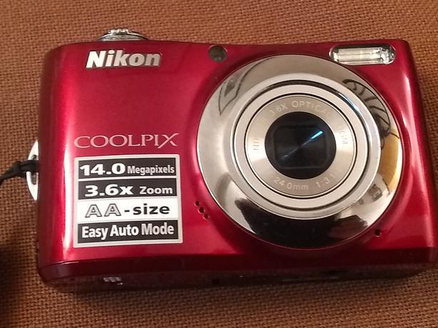 Nikon Coolpix L24. 14MP Digital Camera