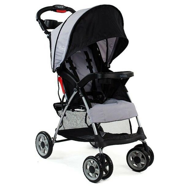 Kolcraft Cloud Plus Lightweight Stroller - Slate Grey