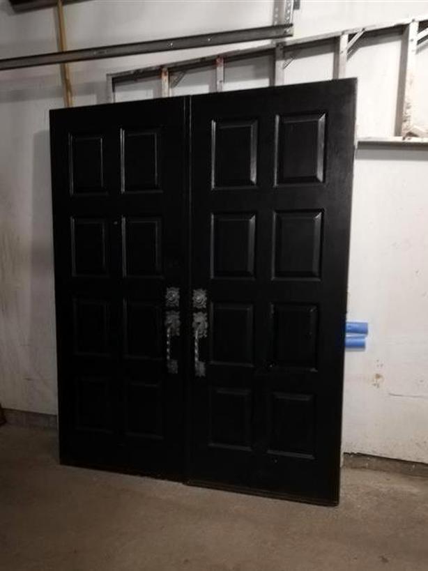 Steel Double Doors