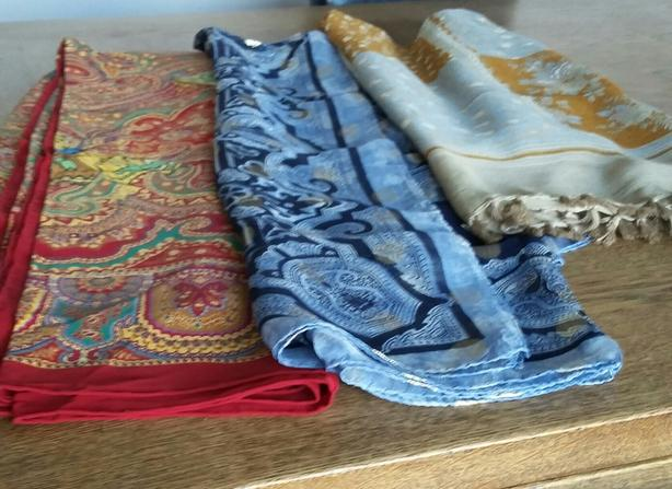 oversized SILK Designer Scarves made in Italy