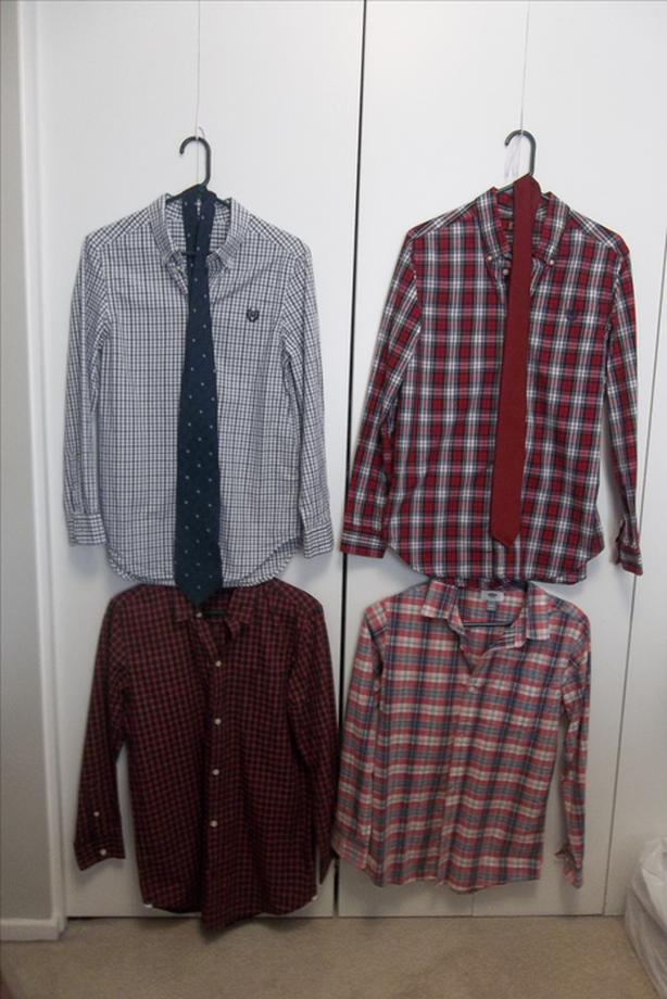 I have 5 shirt and 2 necktie for sale.TAKE ALL FOR $20.00