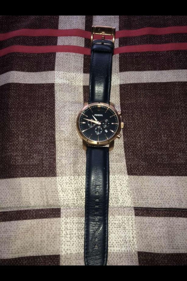 Fossil Blue/Copper Watch