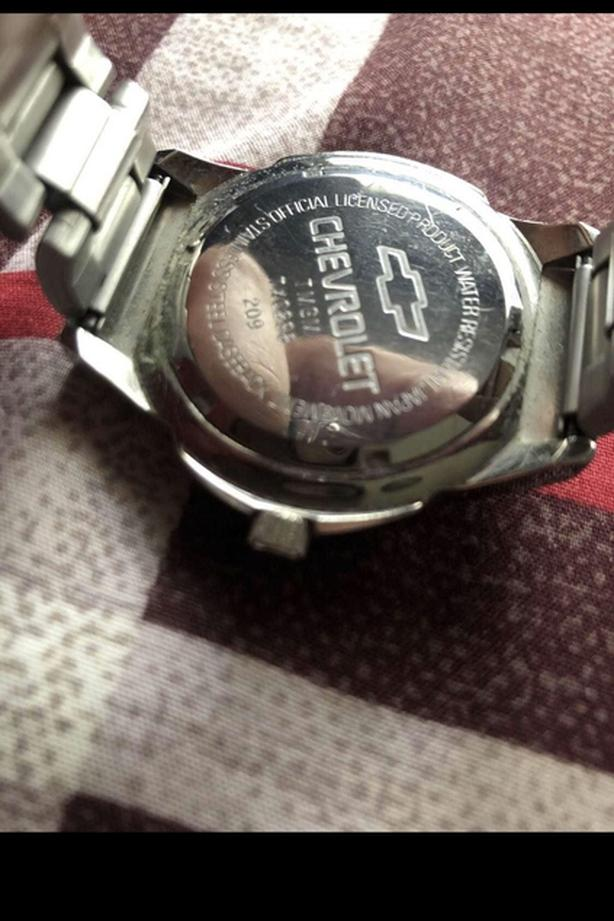 *RARE* Silver Chevrolet Link Watch