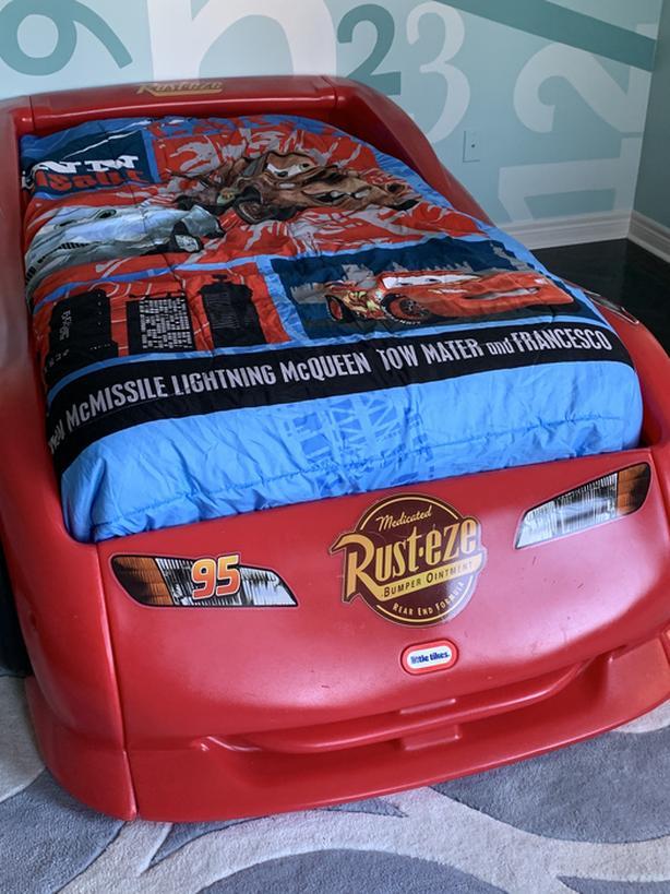Disney car bed