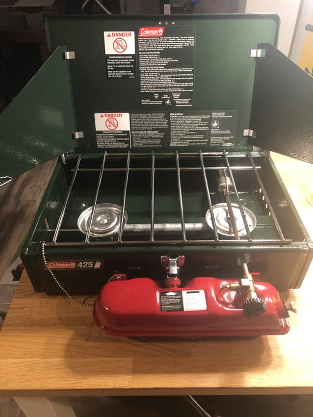 Coleman stove and fuel