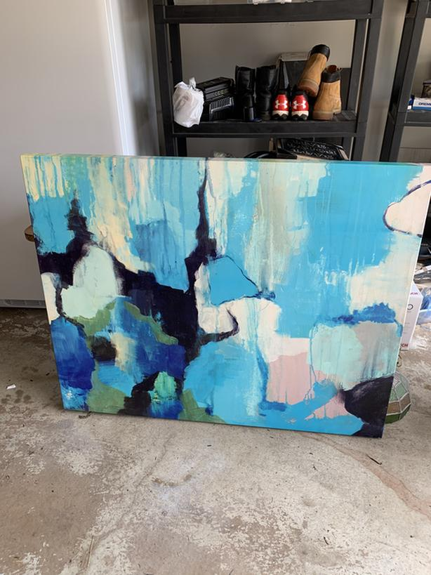 Large abstract picture 50x40