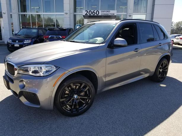 2017 BMW X5 xDrive35i M Sport Package Navigation-Leather-Sunroof AWD
