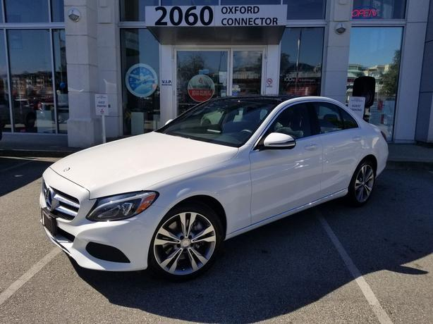 2017 Mercedes-Benz C-Class C 300 Navigation-Leather-Sunroof AWD