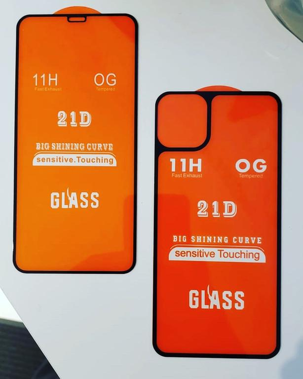 iPhone 21-D Front & Back Glass Protector