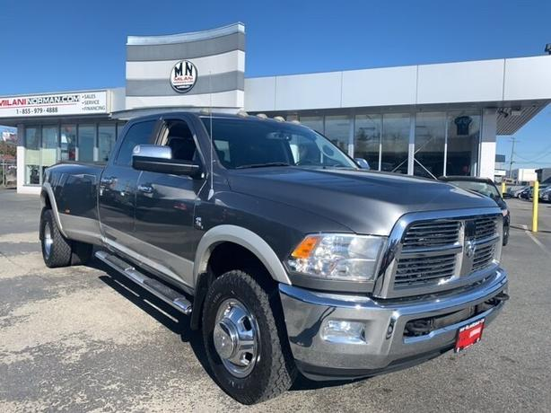 Used 2010 Dodge Ram 3500 Laramie 4WD DUALLY DIESEL SUNROOF NAVI ONLY 151KM Truck
