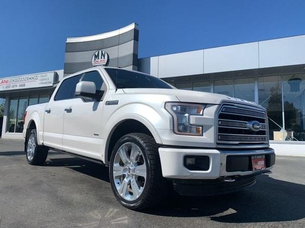 Used 2016 Ford F-150 Limited 4WD ECO-BOOST NAVI SUNROOF 360CAM Crew Cab