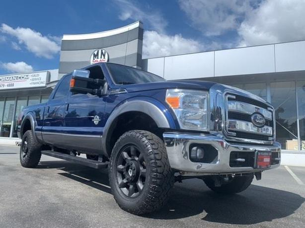 Used 2011 Ford F-350 Lariat FX4 4WD DIESEL LEATHER SUNROOF CAMERA Truck Crew Cab