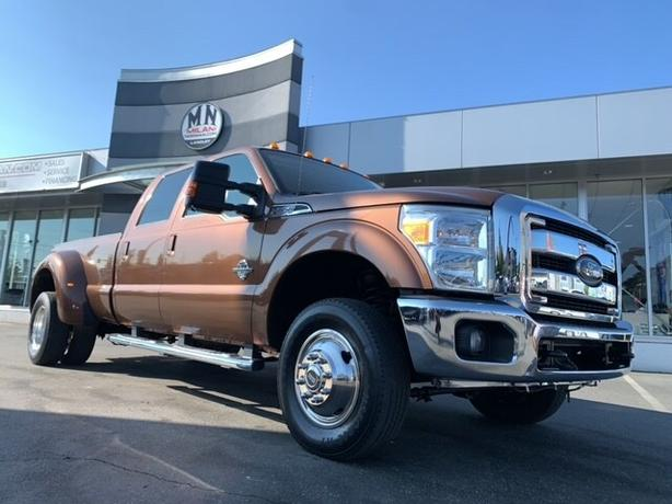 Used 2012 Ford F-350 Lariat FX4 DUALLY DIESEL 4WD NAVI LEATHER Truck Crew Cab