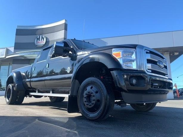Used 2015 Ford F-450 Platinum FX4 4WD DIESEL NAVI SUNROOF CAMERA LIFTED Truck Cr