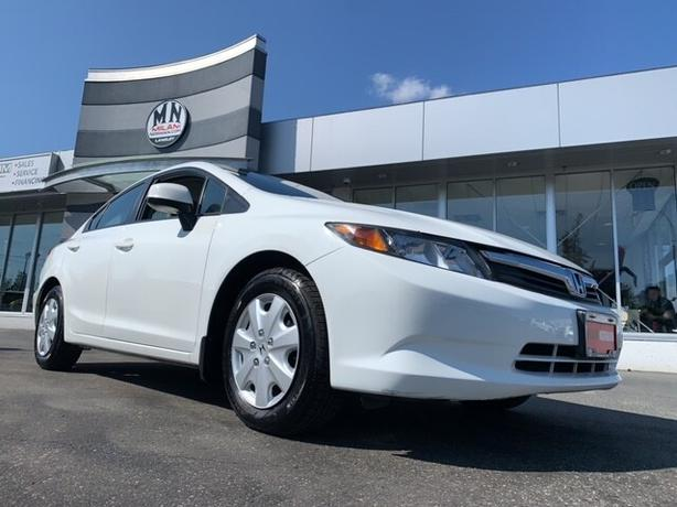 Used 2012 Honda Civic LX 1.8L AUTO POWER GROUP A/C 132KM Sedan