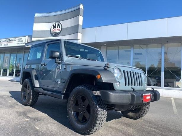 Used 2015 Jeep Wrangler Sport 4WD AUTOMATIC HARD-TOP & SOFT TOP 60KM SUV