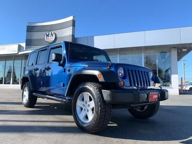 Used 2010 Jeep Wrangler Unlimited Sport 4WD 6SPD MANUAL HARD-TOP SUV
