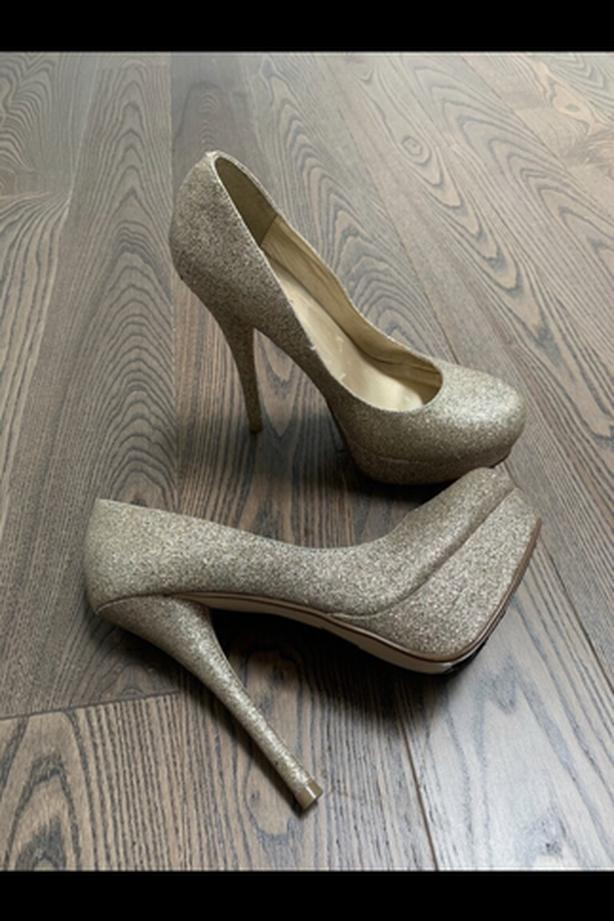 Gold call it spring heels