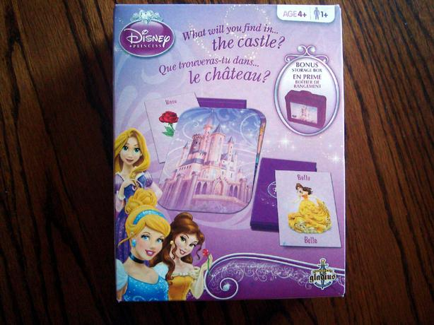 Disney Princess Card Game – What Will You Find In The Castle? - $5