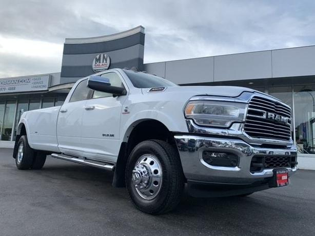Used 2019 Ram 3500 Laramie 4WD LB DUALLY DIESEL NAVI 5TH PKG LIKE NEW Truck Crew