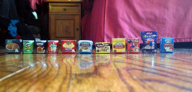 Shopkins Mini Food Toys - $1 each or $10 all