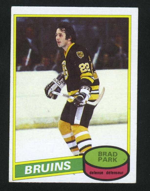 1980/81 O Pee Chee Brad Park Boston Bruins