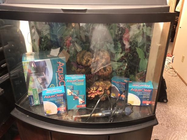 Complete Fish Tank Set