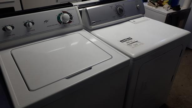 Made by Whirlpool heavy duty super capacity plus Washer and Dryer