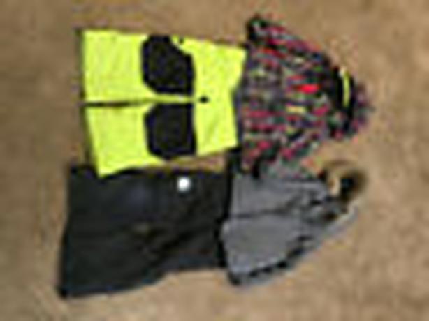 kid's winter clothing