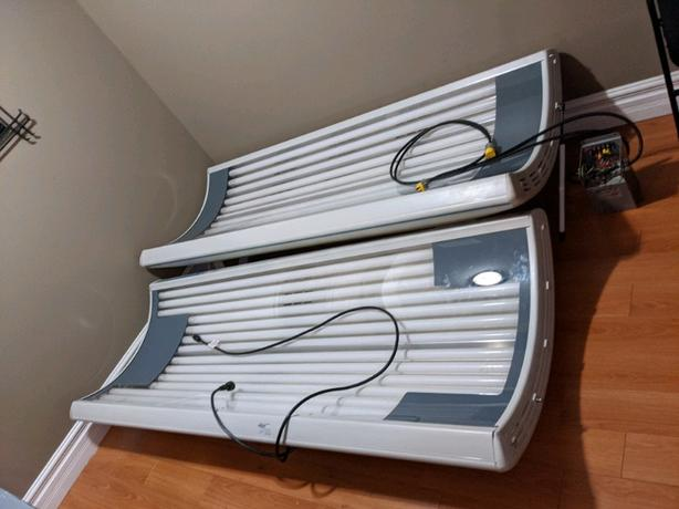 SunQuest Pro Wolf System tanning bed