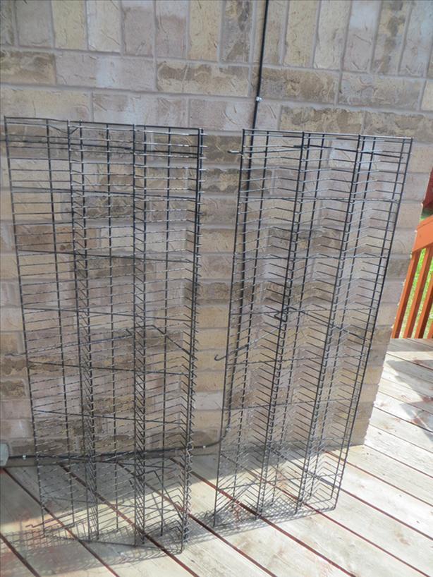 6 Steel Shelves