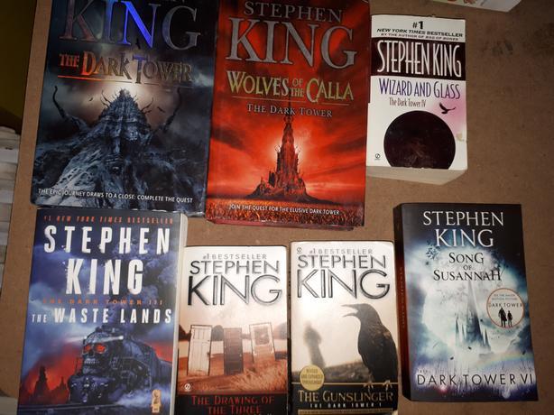 STEPHEN KING THE GUNSLINGER BOOKS